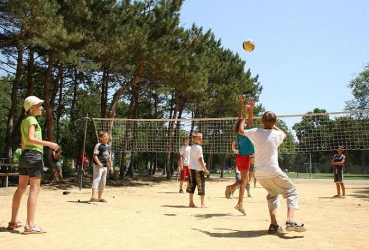 Оздоровительный лагерь олимпиец работает в докшицкой спортшколе во время весенних каникул
